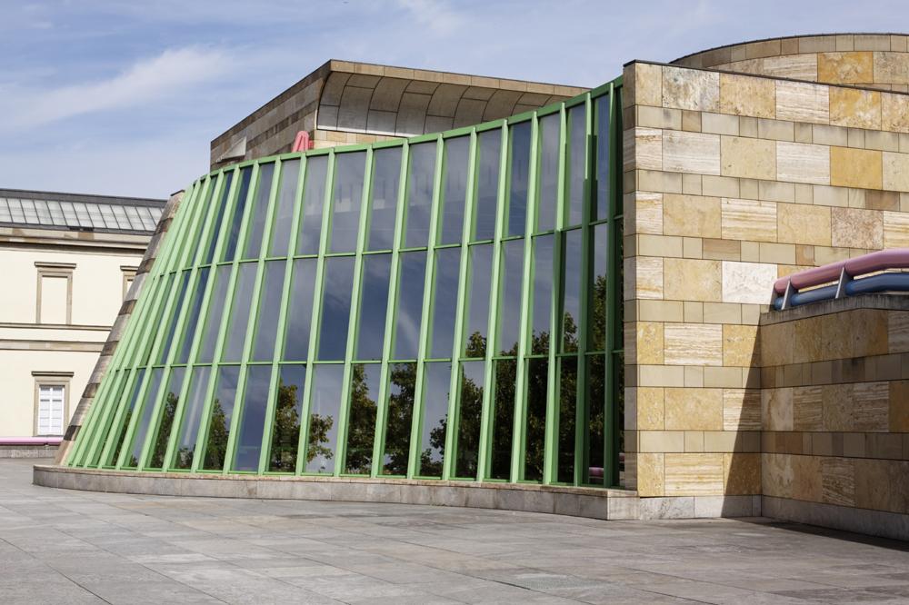 Einfuhrung Architektur Der Postmoderne Die Neue Staatsgalerie In